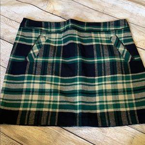 Plaid tommy skirt